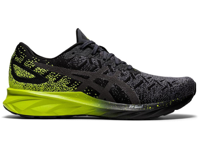asics Dynablast Chaussures Homme, black/lime zest